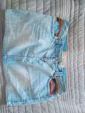 Mini de jeans