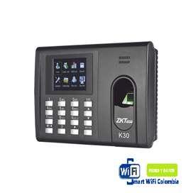 Control  de Huella y Tarjetas para Tiempo y Asistencia con Batería de Respaldo/ Comunicación TCP/IP / Reportes directo