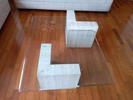 Tres mesas de centro