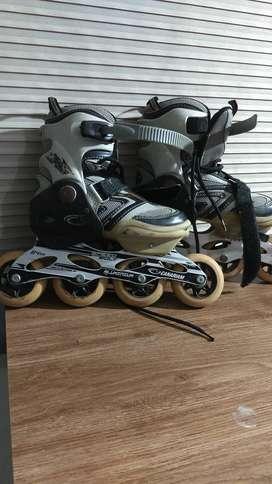 Se venden patines semi profesionales marca Canariam talla 35-38