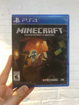 Minecraft fisico ps4