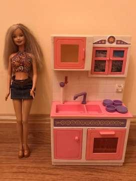 Mueble para barbie cocina
