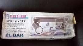 LAMPARA HOME DELIGHT SPOT LIGHTS, COLOR BRONCE ENVEJECIDO