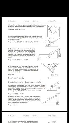 Clases de física y matemática