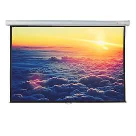 Pantalla Telón De Proyección Manual 300x230cm Video Beam