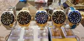Reloj Rolex Automático, Deportivo y Elegante, Taquímetro, Chronograph, Resistente al agua, Caja de Acero Inoxidable.