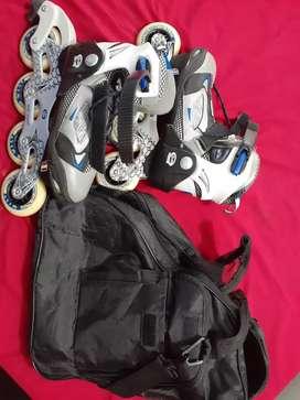 Vendo patines en línea semiprofesionales  graduales