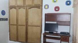 Se arrienda habitacion que incluye baño, wifi, televisor