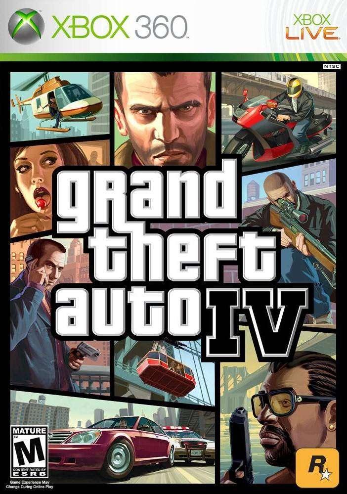 Gta 4 Grand Theft Auto 4 (xbox 360, Xbox One), Físico