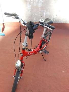 Bicicleta Plegable Aurorita Folding
