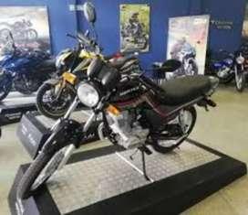 Moto Corven Hunter 150 cc Modelo 2018. (Con rayos)