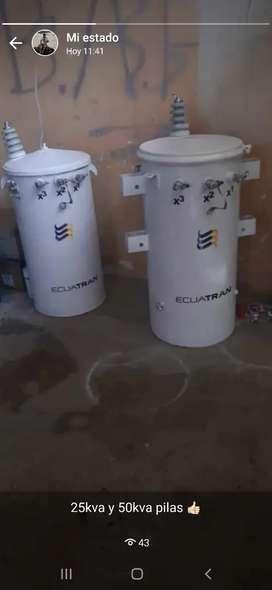 Transformadores 25 50 kva