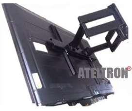 Bases soportes  escualizables  dual Tv led lcd curvos 40-65 pulgadas