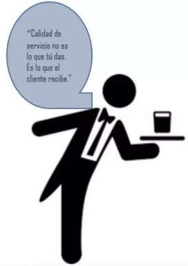 Servicio de meseros para eventos