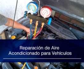 Aire Acondicionado para Autos Reparación