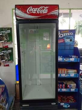 Heladera exhibidora coca cola