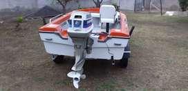 Vendo bote  con motor urgente