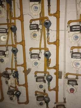 Reformas y diseños de redes de gas residencial y comercial