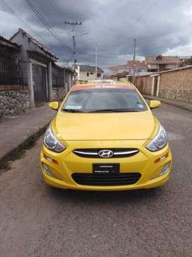 Venta de Taxi Hyundai accent 2016 con puesto