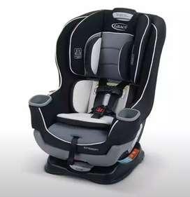 Silla asiento bebé marca Graco Extend2Fit usado
