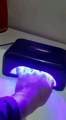 Cabina UV LED para uñas