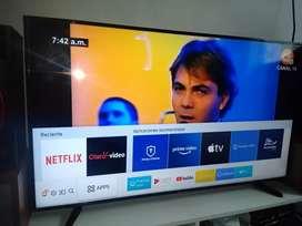 "Smart TV Samsung Ultra HD 4K de 55""pulgadas"