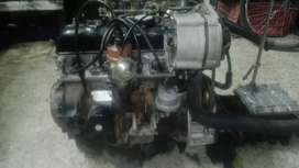 Motor de renault 4 completo