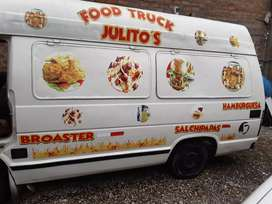 Vendo mi Food Truck listo para trabajar