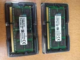 MEMORIA RAM Kingston DDR3 8GB