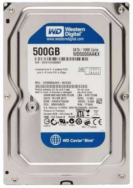 Disco duro HDD 500GB SATA desktop