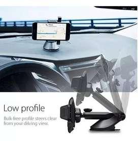 Soporte Holder Celular Carro Vidrio - Millare Pegamento 3m
