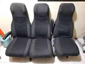Vendo 4 sillas reclinables para buseta