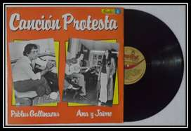 Canción Protesta. Lp. Vinilo