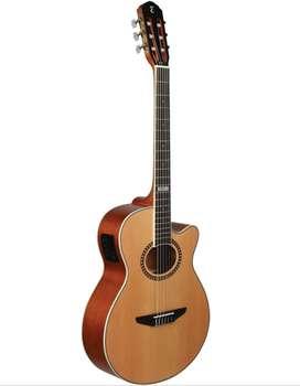 Guitarra Tagima VEGAS-T NA electroacústica cuerdas nylon Natural
