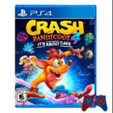 Crash Bandicoot 4 Its About Time Ps4 Físico
