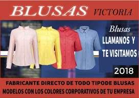 Blusas profesionales personalizadas para empresas fabricas institutos