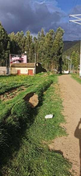 Vendo Terreno a 3 Cuadras de la plaza de Hualhuas