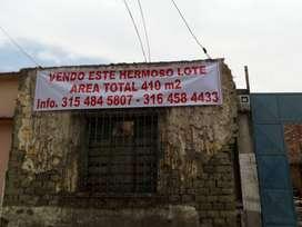 VENDO LOTE AREA TOTAL 410 m² PALMIRA