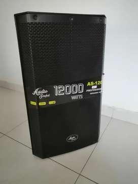 """Cabina activa 15"""" audio sound 12000watss"""