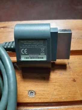 Vendo cable de audio video de xbox 360