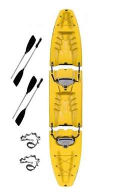 Vendo Kayak  Usado Desmontable Modelo Oahu para 1 o 2 personas  - Rosario