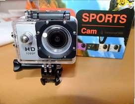 Cámara Sport  nueva en caja con todos sus accesorios