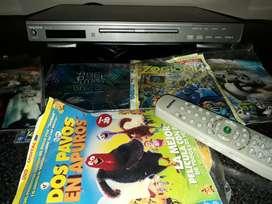 Vendo DVD nuevo con control y 5 pelicula de regalo