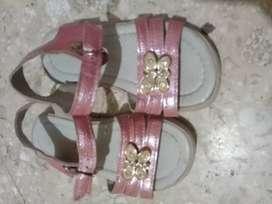 Sandalia rosas