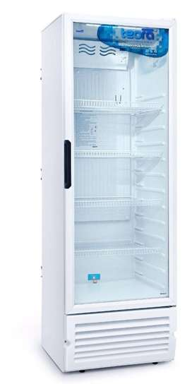 Heladera Teora Exhibidora Tev vertical 450L CON GARANTÍA ORIGINAL -se vende por cierre de comercio-   -Marca: TEORA