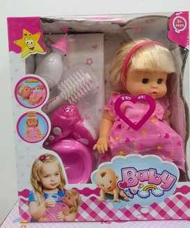 Muñeca Que Moja El Pañal Orina