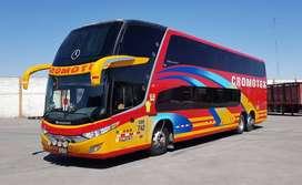 BUS MERCEDES BENZ O-500RSD 2012 DOBLE PISO EN PERFECTO ESTADO