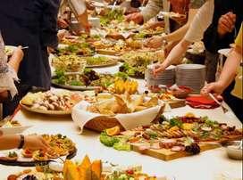 ayudante de cocina para banquetes y catering