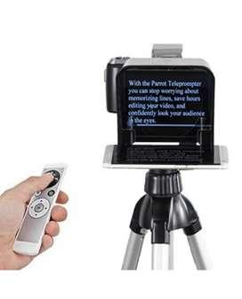 Parrot Teleprompter V2 Kit + control remoto+teclado prom+mini tripode+aplicacion parrot
