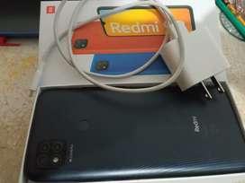Redmi 9C con caja y cargador original
